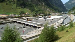 Die alte Zollstation am Brenner in Österreich