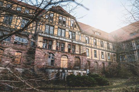 Verlassene Orte In Thuringen Geisterhotels Und Geisterdorfer Zum