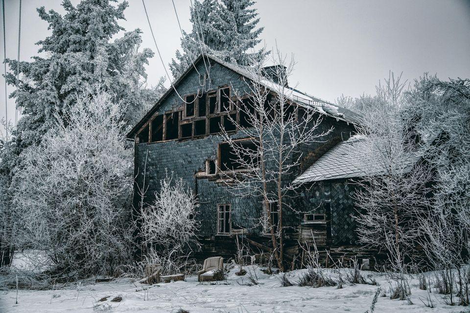 Das Geisterdorf in Lehesten