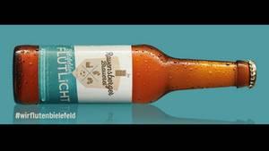 Werbeanzeige der Ravensberger Brauerei aus Bielefeld