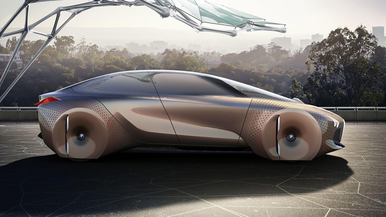 Äußerlich erinnert BMW Next Vision 100 wenig an ein Auto von heute, aber vieles bleibt gleich - von der Fahrgastzelle bis zu den vier Reifen.