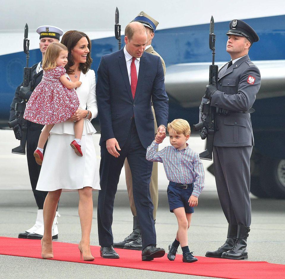 William und Kate in Polen