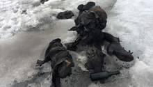 Mumifizierte Leichen werden vom Tsanfleuron-Gletscher in der Schweiz freigegeben