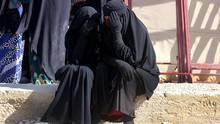 """Die weibliche Seite des """"Kalifats"""": Diese Frauen flohen vor den Kämpfen in Mossul"""