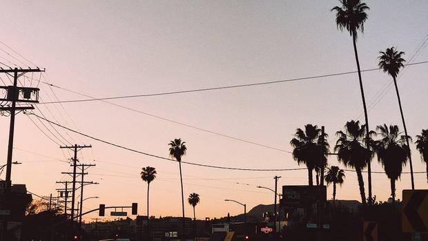 Welcome to L. A.! Die Stadt der Engel kurz vor Sonnenuntergang
