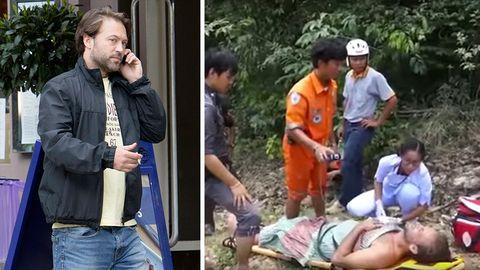 Selfie-Unfall?: Britischer Schauspieler liegt drei Tage mit Beinbruch im Dschungel