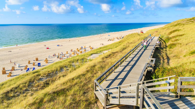 Kampener Strand auf Sylt
