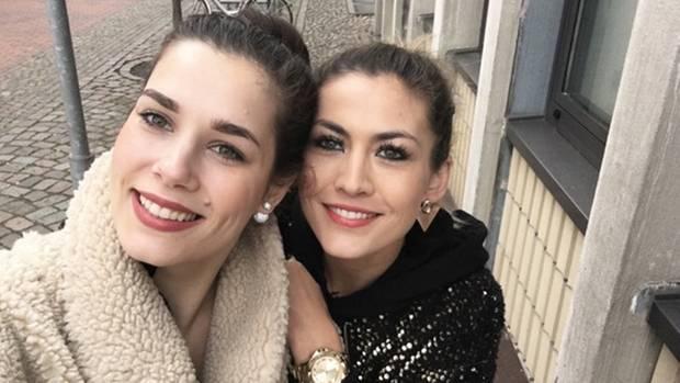 Fiona Erdmann (r.) und ihre gute Freundin Tara Wittwer