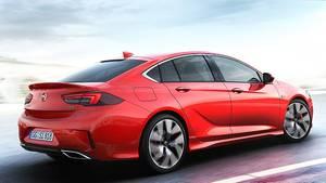 Opel Insignia GSi - startet auf der IAA 2017