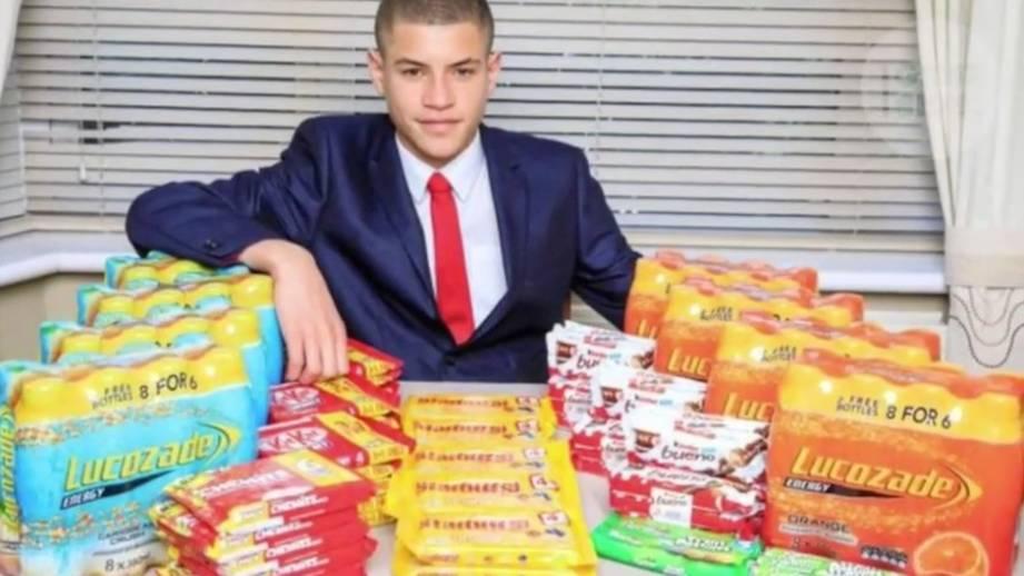 Jüngster Geschäftsmann unter den Briten: 15-Jähriger verkauft Süßigkeiten per Snapchat - und verdient 1300 Euro pro Woche