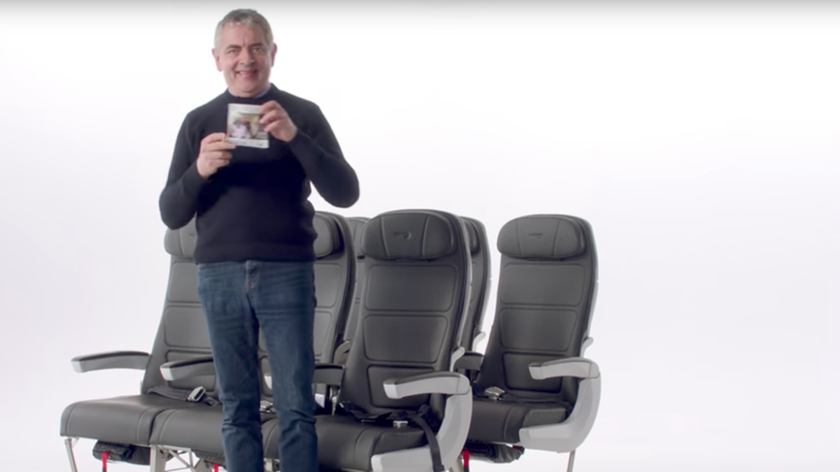 Mr Bean Rowan Atkinson British Airways Sicherheitsvideo