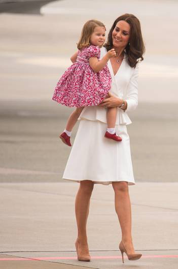Kate und Tochter Charlotte