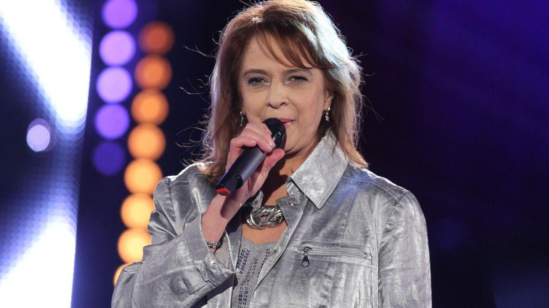 Andrea Jürgens bei einem Auftritt im MDR im Januar 2016