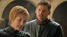 Jaime Lannister diskutiert mit seiner Schwester Cersei