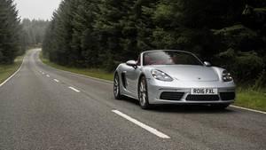 Ein Porsche Boxster (Symbolbild)