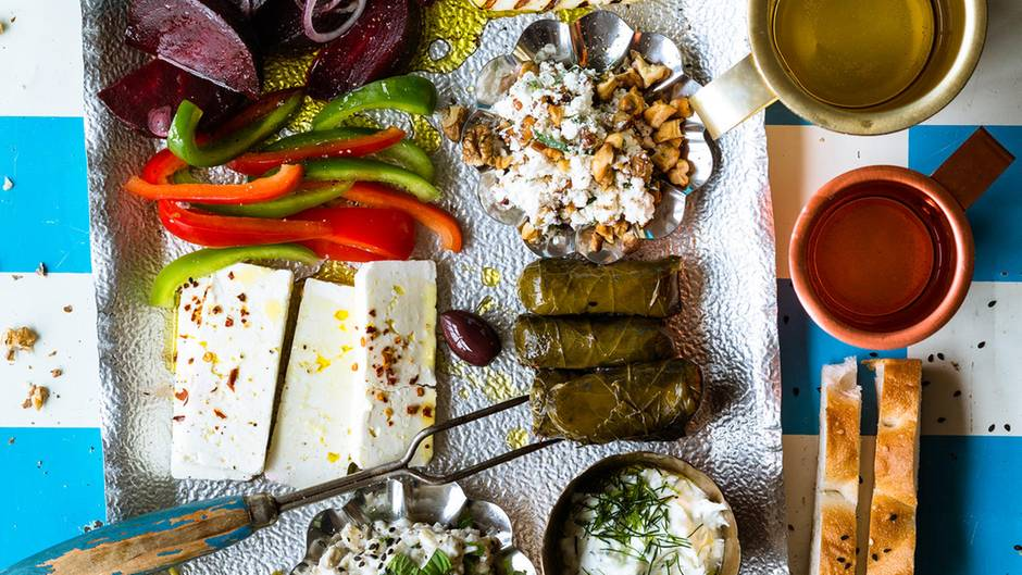 Griechische Speisen