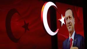 """Der türkische Präsident Recep Tayyip Erdogan hat Deutschland """"große politische Verantwortungslosigkeit"""" vorgeworfen"""