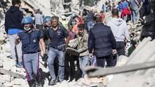 Tod und Trümmer in Amatrice: die Trauer der einen, das Geschäft der anderen