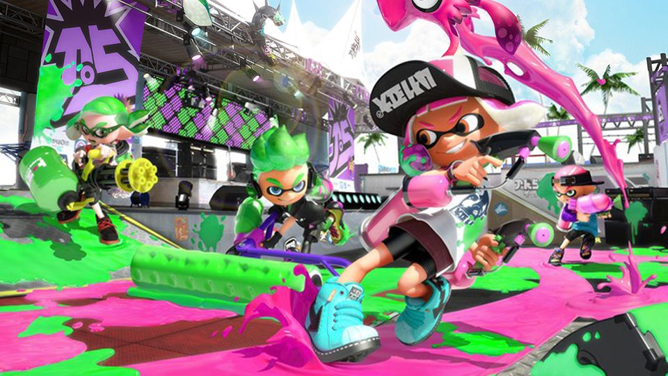 "Nintendo Switch: ""Splatoon 2"" im Test: Kleckern statt klotzen"