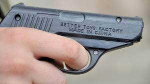 Ein Spielzeugpistole