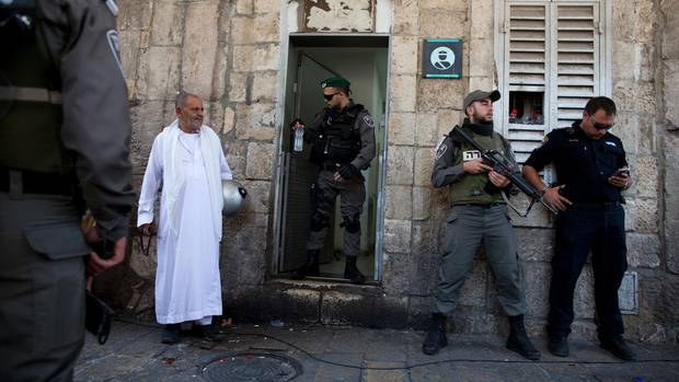 Unruhen Jerusalem