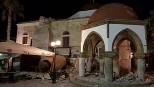 Erdbeeben erschüttert Ägäis-Region - mindestens zwei Tote, mehr als hundert Verletzte