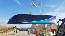 """Erster Prototyp von Elon Musks """"Hyperloop"""""""