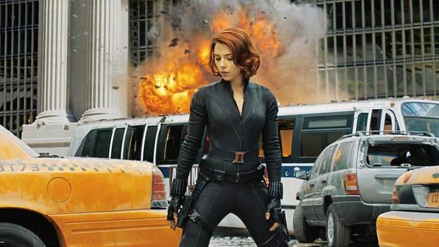 Frau mit Power: Scarlett Johansson als Black Widow