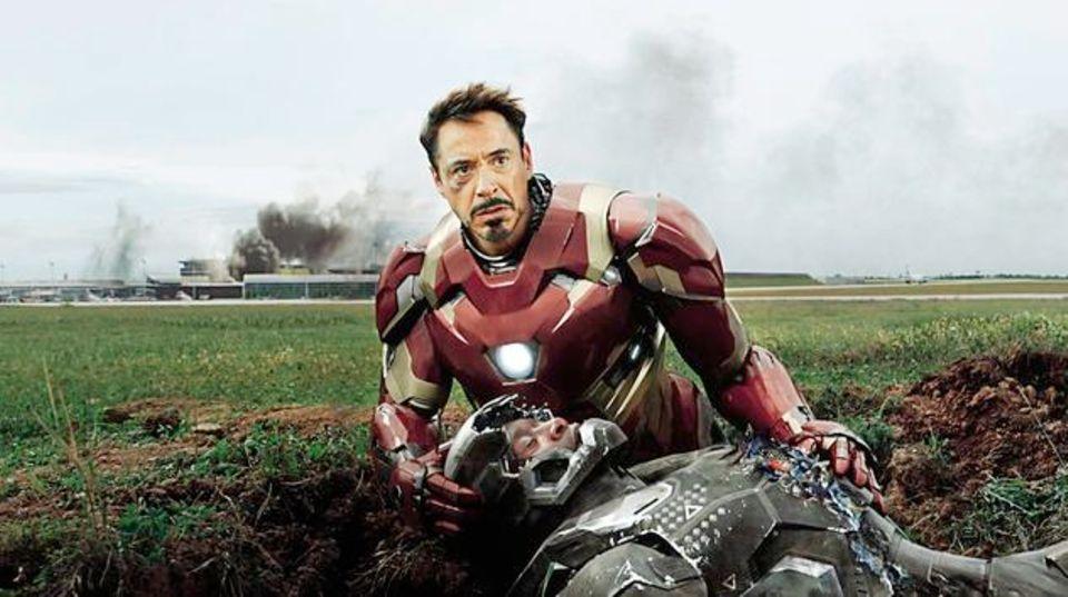 Sympathieträger: Robert Downey Jr. als Iron Man