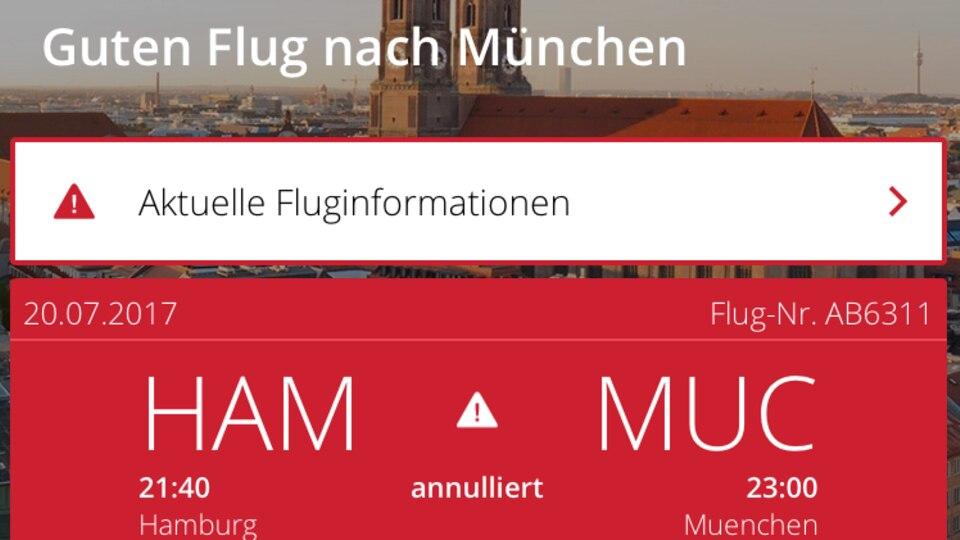 Air Berlin wünscht einen guten Flug