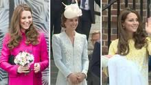 Kate Middleton Die schönsten Styles der Herzogin von Cambridge