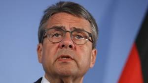Außenminister Sigmar Gabriel von der SPD