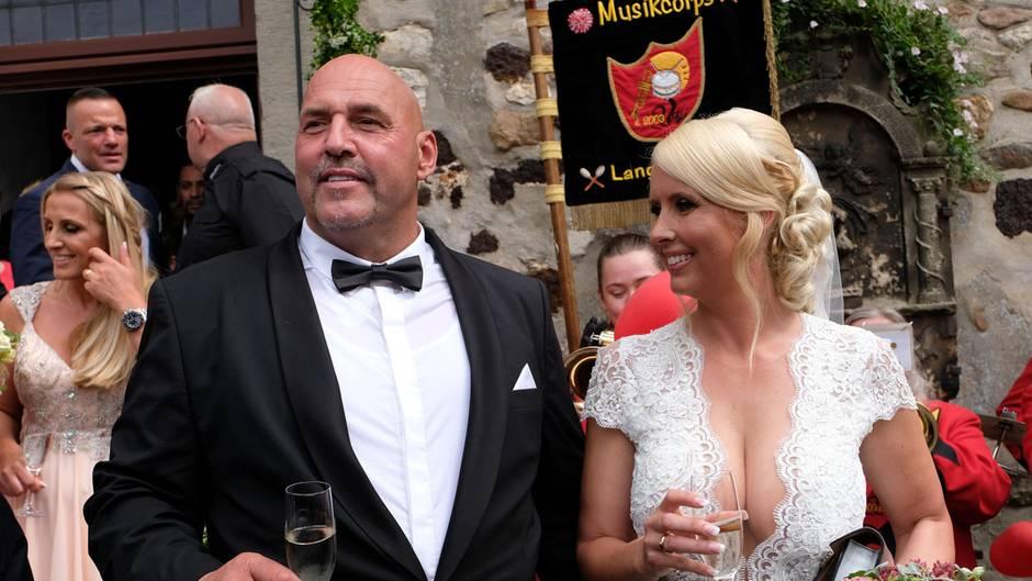 Hells Angels-Boss Frank Hanebuth heiratet seine Lebensgefährtin Sarah
