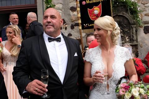 """Rocker-Hochzeit: """"Hells Angels""""-Boss Hanebuth heiratet - und alle kommen und staunen"""