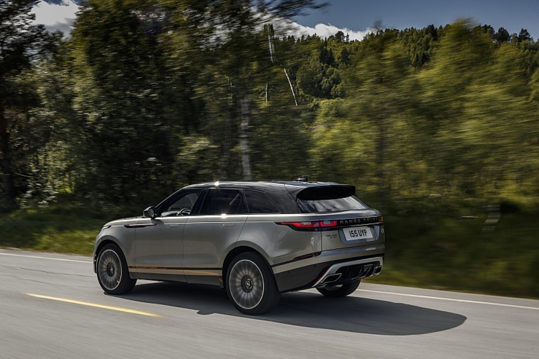 Der Range Rover Velar ist 4,80 Meter lang