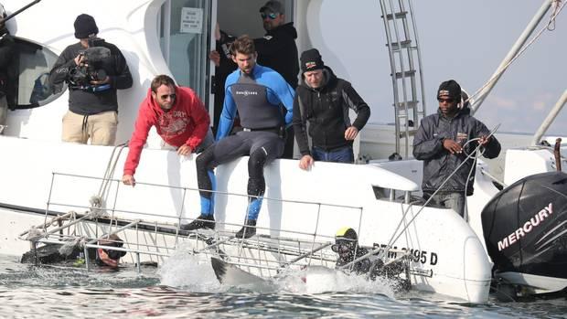 Michael Phelps Weißer Hai