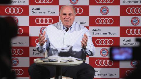 Uli Hoeneß vom FC Bayern München