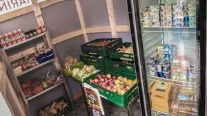 In diesem Provinz-Supermarkt muss man für Lebensmittel nichts zahlen