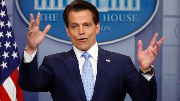 Anthony Scaramucci im Weißen Haus