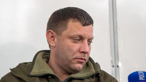"""Separatistenführer Alexander Sachartschenko ruft """"Kleinrussland"""" aus - provoziert damit in der Ukraine"""