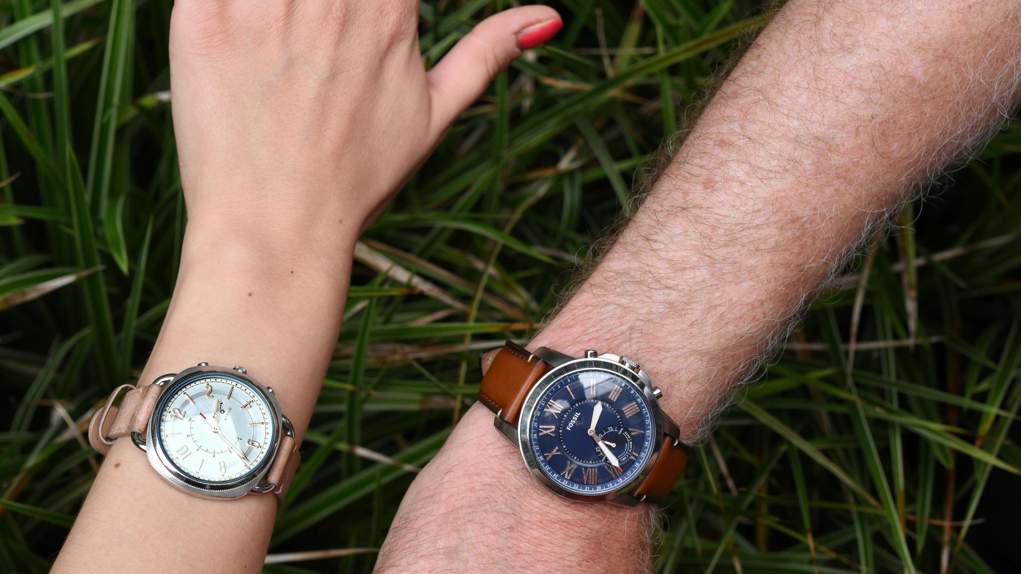 Fossil Q Im Test Wenig Smart Viel Watch Modern Pursuit