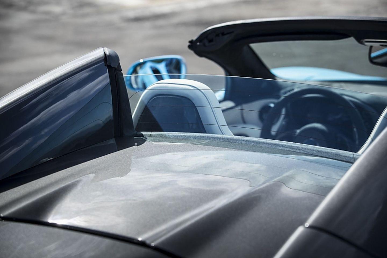 Hier verbirgt sich das Verdeck des McLaren 570S Spider.