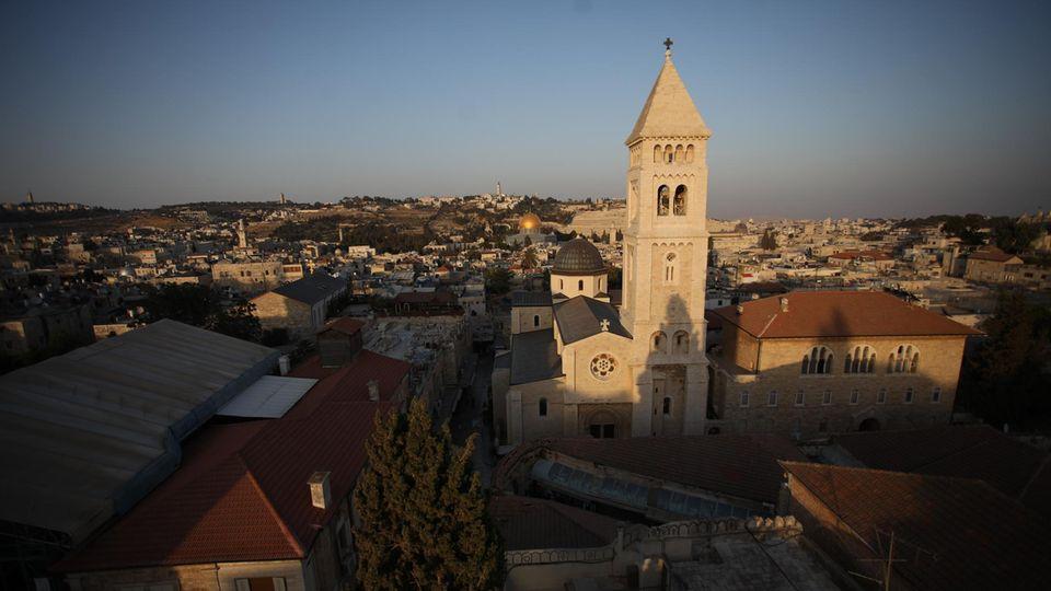 Die Al-Aqsa Moschee auf dem Tempelberg in Jerusalem