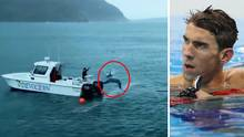 Michael Phelps: Schwimmer verliert Duell gegen Computer-Hai