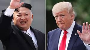 "Nordkorea droht USA mit ""mächtigen Atomhammer"""