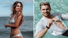 """Die """"Bachelorette"""" Jessica Paszka und Kandidat Johannes Haller"""
