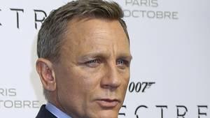 """Daniel Craig bei der Premiere des James Bond Blockbuster """"Spectre"""""""