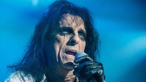 Alice Cooper bei einem Auftritt im schwedischen Oslo