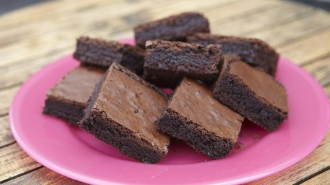 Muttermilch in Brownies