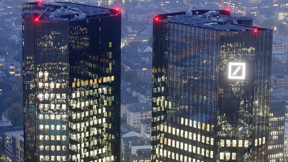 Bürogebäude der Deutschen Bank